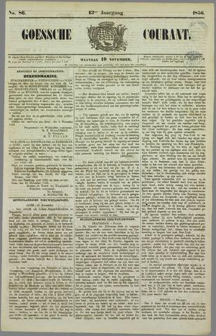 Goessche Courant 1856-11-10