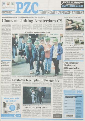 Provinciale Zeeuwse Courant 2001-05-01