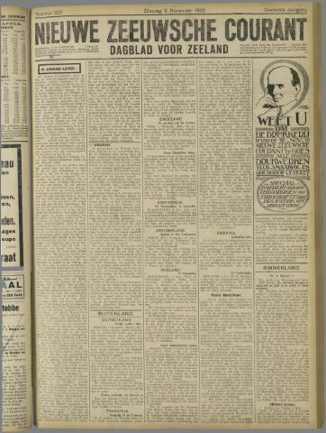 Nieuwe Zeeuwsche Courant 1920-11-09