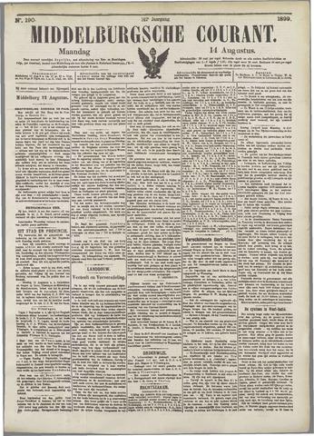 Middelburgsche Courant 1899-08-14
