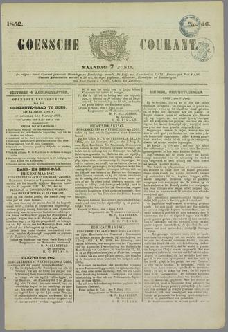Goessche Courant 1852-06-07