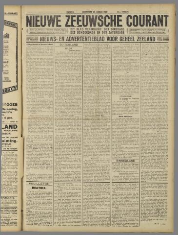 Nieuwe Zeeuwsche Courant 1926-01-28