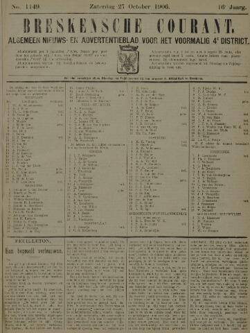 Breskensche Courant 1906-10-27