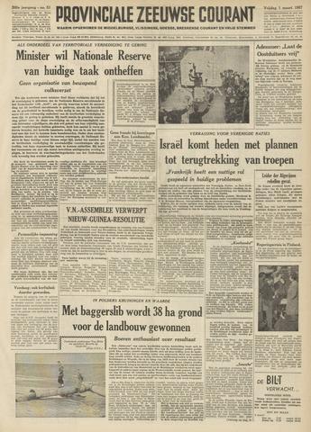 Provinciale Zeeuwse Courant 1957-03-01