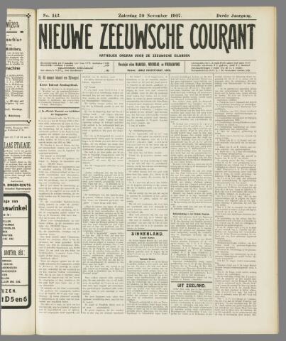 Nieuwe Zeeuwsche Courant 1907-11-30