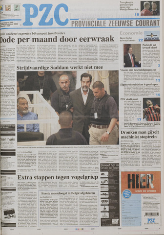 Provinciale Zeeuwse Courant 2005-10-20