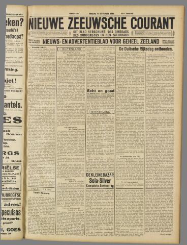 Nieuwe Zeeuwsche Courant 1932-09-13