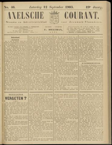 Axelsche Courant 1903-09-12
