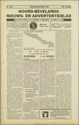 Noord-Bevelands Nieuws- en advertentieblad 1933-12-23