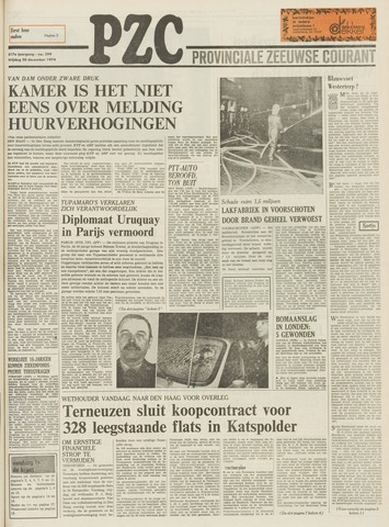 Provinciale Zeeuwse Courant 1974-12-20