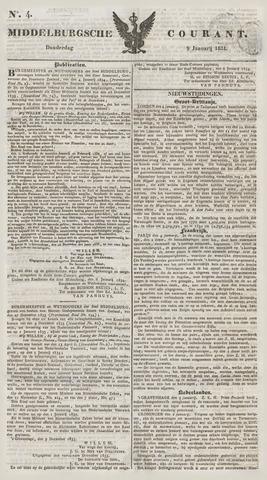 Middelburgsche Courant 1834-01-09