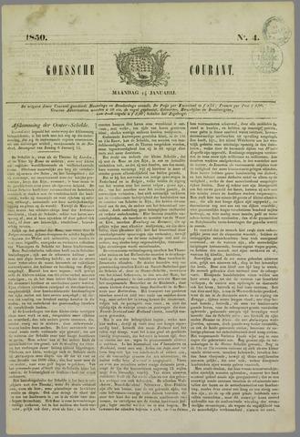 Goessche Courant 1850-01-14