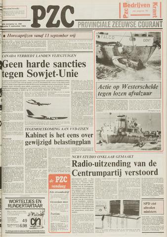 Provinciale Zeeuwse Courant 1983-09-06