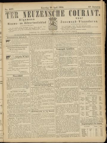 Ter Neuzensche Courant. Algemeen Nieuws- en Advertentieblad voor Zeeuwsch-Vlaanderen / Neuzensche Courant ... (idem) / (Algemeen) nieuws en advertentieblad voor Zeeuwsch-Vlaanderen 1904-04-30