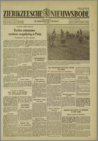 Zierikzeesche Nieuwsbode 1960-10-28