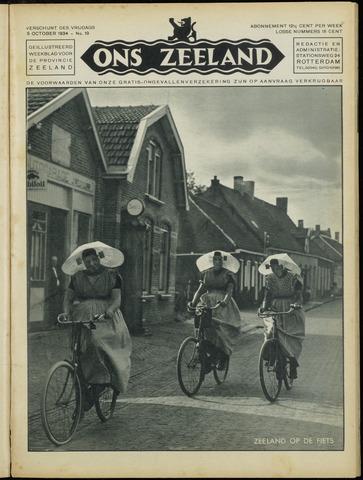 Ons Zeeland / Zeeuwsche editie 1934-10-05