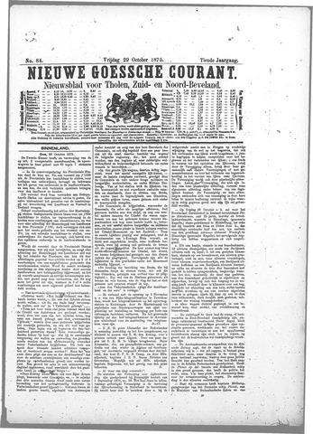Nieuwe Goessche Courant 1875-10-29