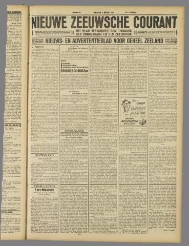 Nieuwe Zeeuwsche Courant 1929-03-05