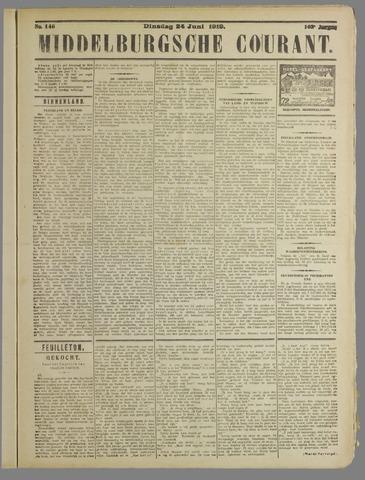 Middelburgsche Courant 1919-06-24