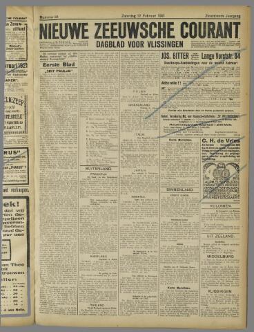 Nieuwe Zeeuwsche Courant 1921-02-12