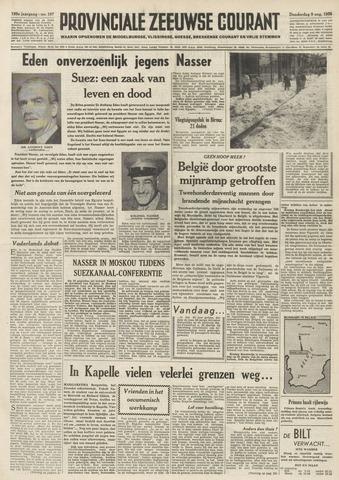 Provinciale Zeeuwse Courant 1956-08-09