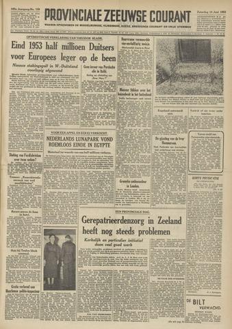 Provinciale Zeeuwse Courant 1952-06-14