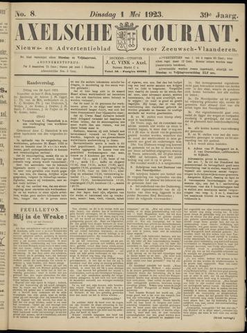 Axelsche Courant 1923-05-01