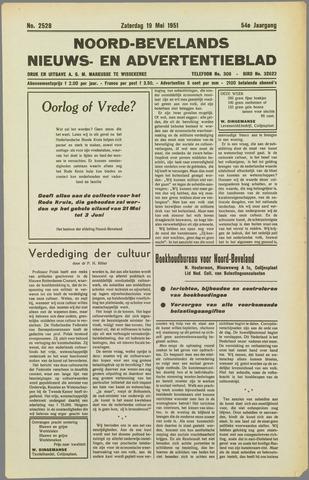 Noord-Bevelands Nieuws- en advertentieblad 1951-05-19