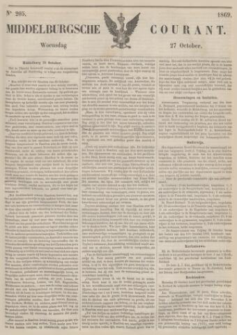 Middelburgsche Courant 1869-10-27