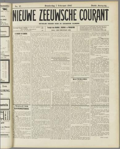 Nieuwe Zeeuwsche Courant 1907-02-07