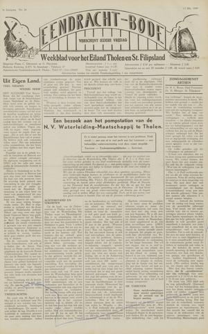 Eendrachtbode (1945-heden)/Mededeelingenblad voor het eiland Tholen (1944/45) 1949-05-13