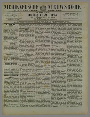 Zierikzeesche Nieuwsbode 1903-07-14