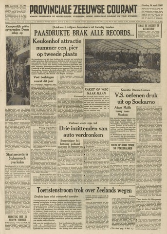 Provinciale Zeeuwse Courant 1962-04-24