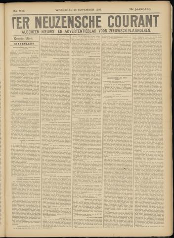Ter Neuzensche Courant. Algemeen Nieuws- en Advertentieblad voor Zeeuwsch-Vlaanderen / Neuzensche Courant ... (idem) / (Algemeen) nieuws en advertentieblad voor Zeeuwsch-Vlaanderen 1930-11-26