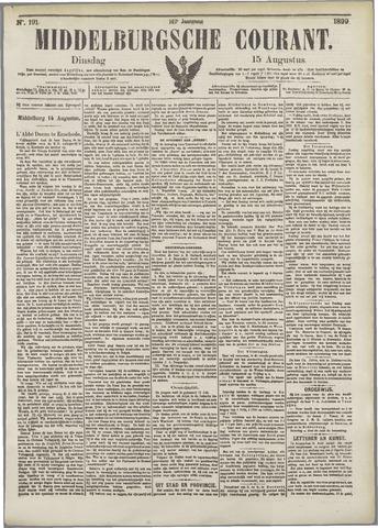 Middelburgsche Courant 1899-08-15