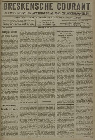 Breskensche Courant 1922-06-10