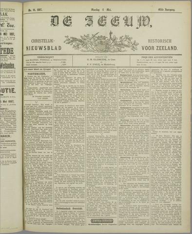 De Zeeuw. Christelijk-historisch nieuwsblad voor Zeeland 1897-05-04
