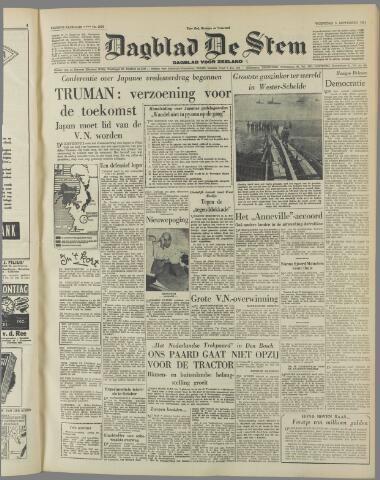 de Stem 1951-09-05