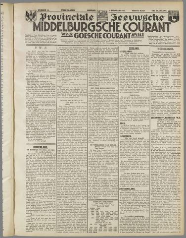Middelburgsche Courant 1937-02-09