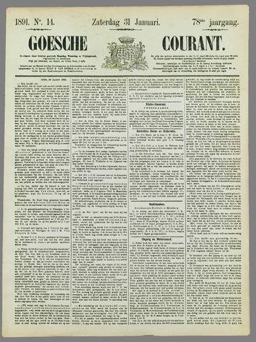 Goessche Courant 1891-01-31