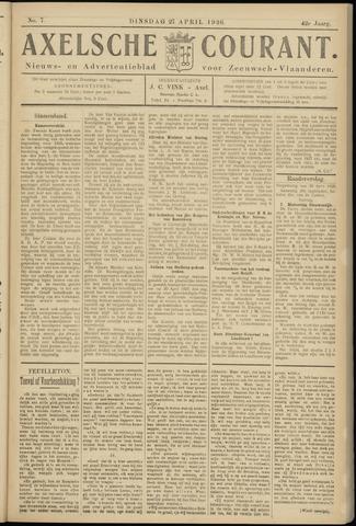Axelsche Courant 1926-04-27