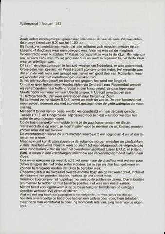 Watersnood documentatie 1953 - diversen 2008
