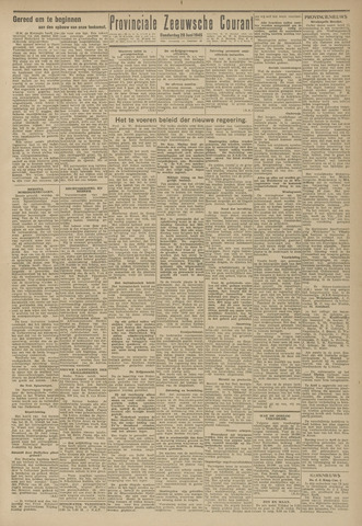 Provinciale Zeeuwse Courant 1945-06-28