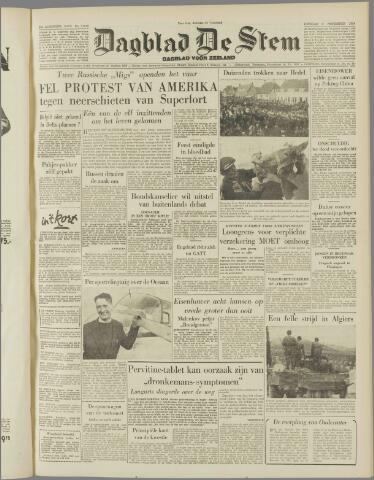 de Stem 1954-11-09