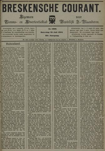 Breskensche Courant 1914-07-25