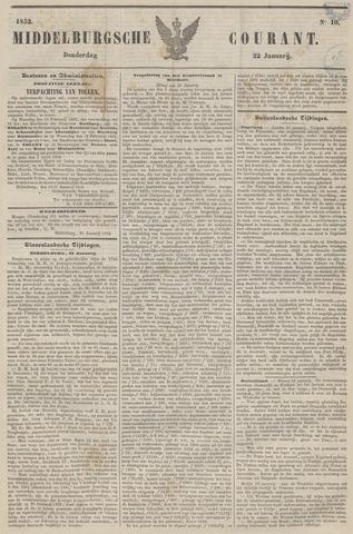 Middelburgsche Courant 1852-01-22