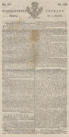 Middelburgsche Courant 1763-08-23