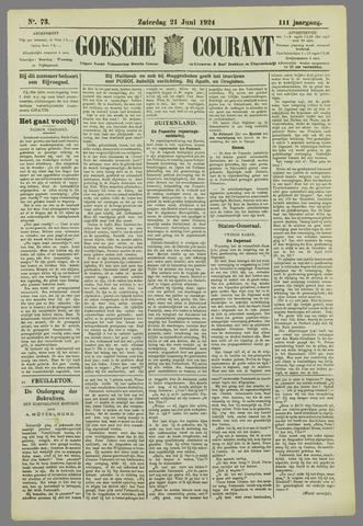 Goessche Courant 1924-06-21