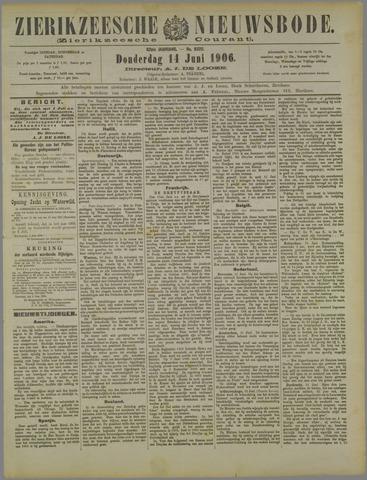 Zierikzeesche Nieuwsbode 1906-06-14