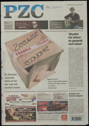 Provinciale Zeeuwse Courant 2014-11-22